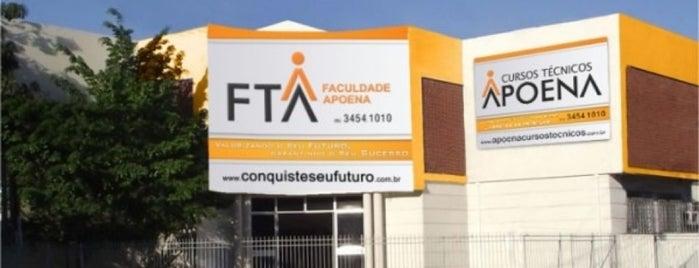 Faculdade Tecnologica Apoena is one of Locais.