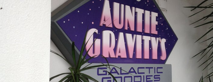 Auntie Gravity's Galactic Goodies is one of DISNEY.