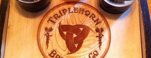 Triplehorn Brewing Company is one of Lugares guardados de JessC ⚓.