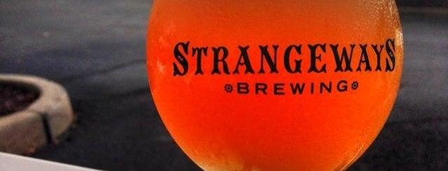 Strangeways Brewing is one of A Weekend Away in Richmond.