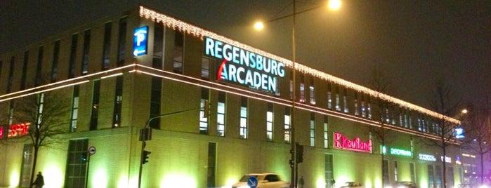 Regensburg Arcaden is one of Germany.