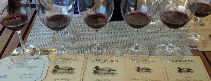 Duckhorn Vineyards is one of A Weekend Away in Napa.