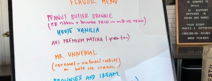 Kansha Creamery is one of Organic LA.