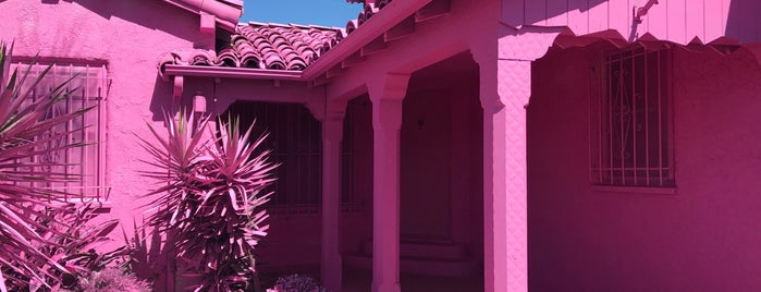 The Pink House is one of california dreaming.