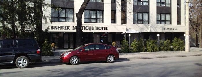 Bishkek Boutique Hotel is one of Locais curtidos por Anton.