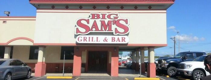 Big Sam's is one of My Favorite Beer Bars.