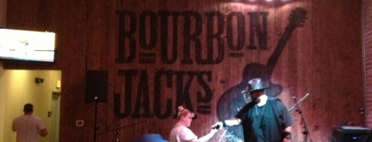 Bourbon Jack's Grill is one of Places To Drink.