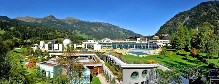 Alpentherme Gastein is one of Terme, Therme, Термы.