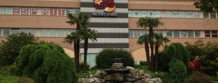 FoxTown Factory Stores is one of Voyages.