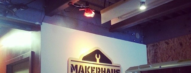 Makerhaus is one of Lieux sauvegardés par DF (Duane).