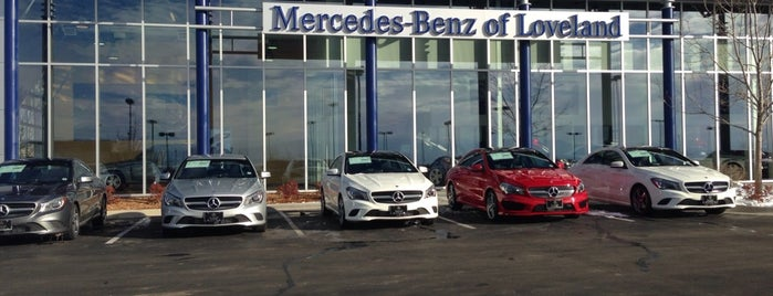 Mercedes-Benz of Loveland is one of Orte, die Hiroshi ♛ gefallen.