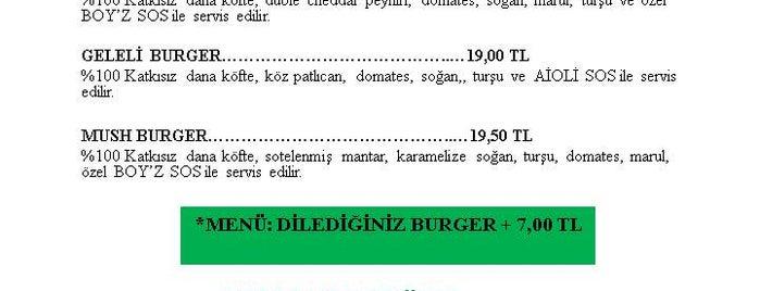 Boy'z Burger is one of Gittiğim Yerler2.