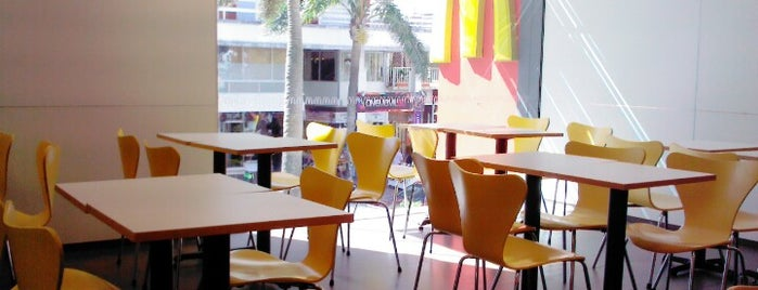 McDonald's is one of Punta del Este.