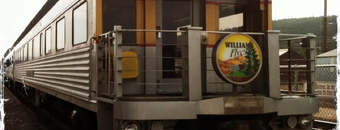 Williams Train Station is one of Alicia's Top 200 Places Conquered & <3.