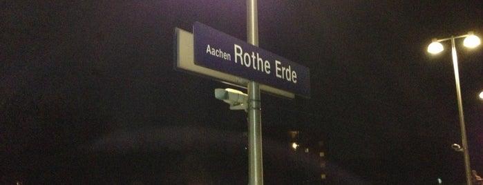 Bahnhof Aachen-Rothe Erde is one of Aachen ÖPNV.