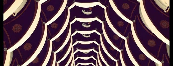 Burj Al Arab is one of Condé Nast Traveler Platinum Circle 2013.