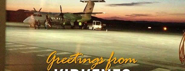 Kirkenes Lufthavn, Høybuktmoen (KKN) is one of Airports Worldwide....