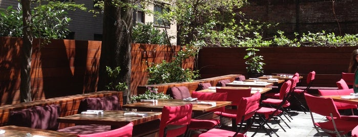 Pure Food and Wine is one of The New Yorkers: Patio Seating.