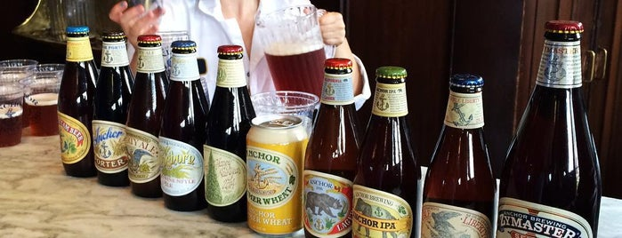 Anchor Brewing Company is one of The World's Best Breweries.