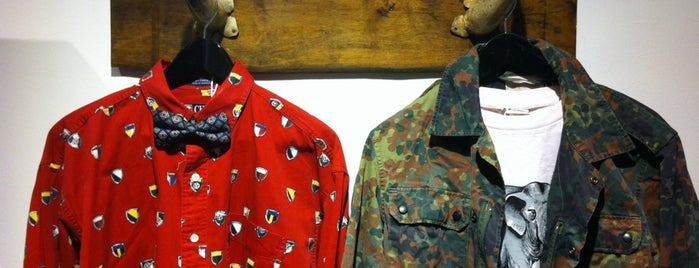 Mr Men's Vintage Clothing is one of Lieux sauvegardés par Marcela.
