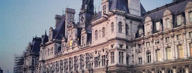 Hôtel de Ville de Paris is one of Paris ♡..