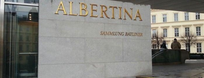 Albertina is one of Wien / Vienna.