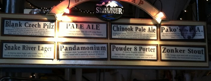 Snake River Brewery & Restaurant is one of Food  Paradise USA.