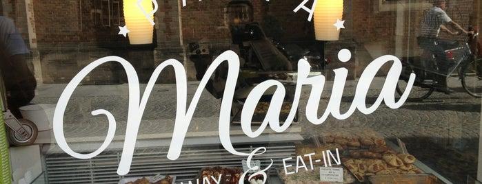 Pasta Maria is one of สถานที่ที่ Eray ถูกใจ.