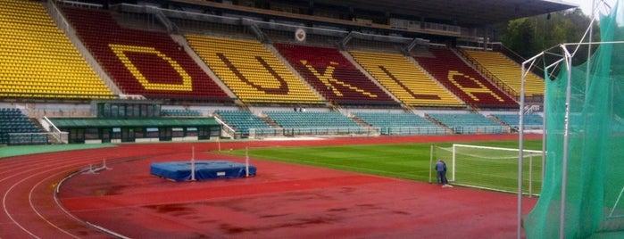 Stadion Na Julisce is one of Navštiv 200 nejlepších míst v Praze.