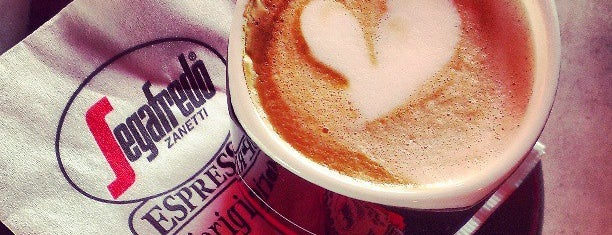 Segafredo L'Originale is one of 10 Top Coffee Shops in Miami.
