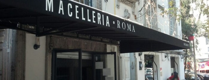 Macelleria is one of Condesa Roma.