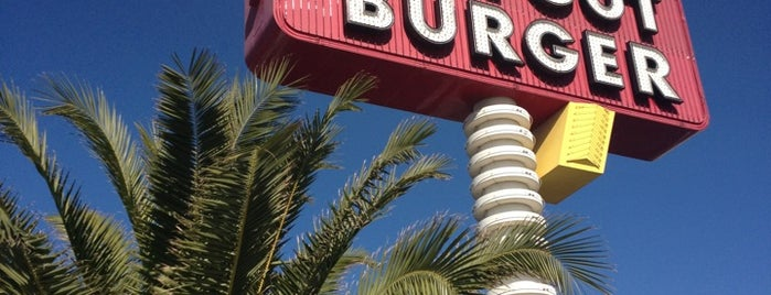 In-N-Out Burger is one of Las vegas.