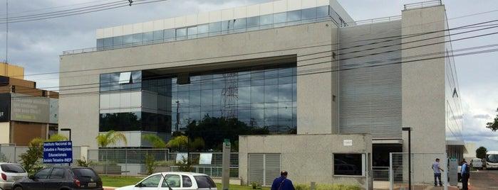 INEP - Instituto Nacional de Estudos e Pesquisas Educacionais Anísio Teixeira is one of Tempat yang Disukai Thiago.