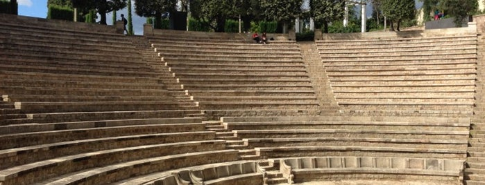 Teatre Grec is one of Around Paral·lel.