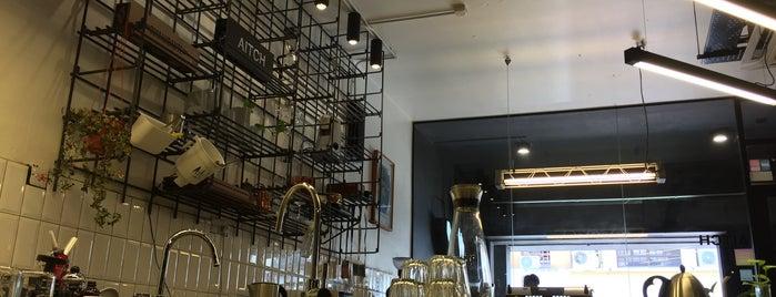 Aitch Coffee Roasters is one of Tempat yang Disimpan Jaclyne.