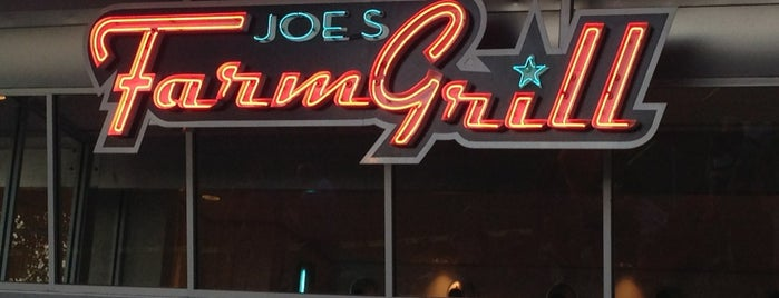 Joe's Farm Grill is one of Lugares guardados de Andy.