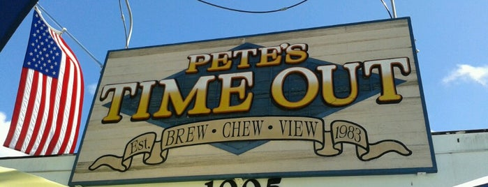 Pete's Time Out is one of Island Bars.