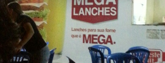 Mega Lanches is one of Marcosさんのお気に入りスポット.