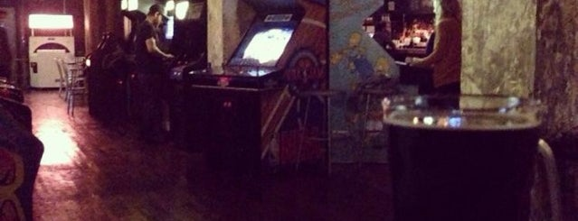 Barcade is one of No sleep til Brooklyn.