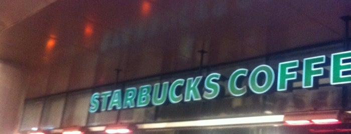 Starbucks is one of Lieux qui ont plu à Hikmet.