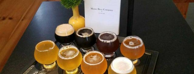 Maine Beer Company is one of Beer / Ratebeer's Top 100 Brewers [2017].