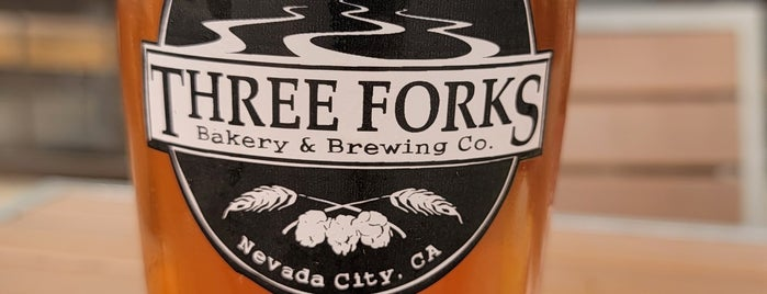 Three Forks Bakery & Brewing Co. is one of Nevada City.