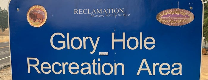 Glory Hole Recreation Area is one of CA Places to See.