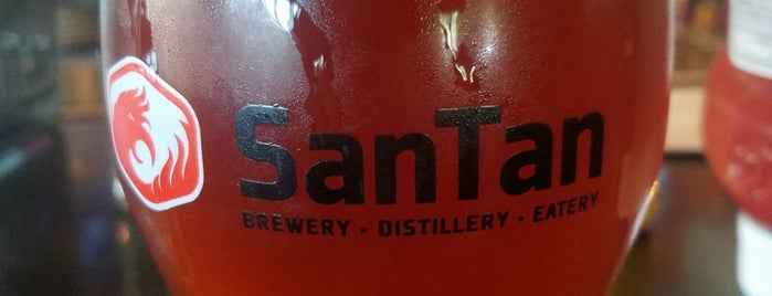 SanTan Brewing Company is one of Goal restaurants.