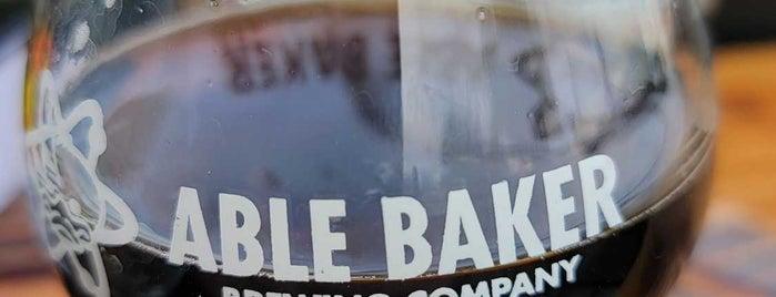 Able Baker Brewing is one of Whit'in Kaydettiği Mekanlar.
