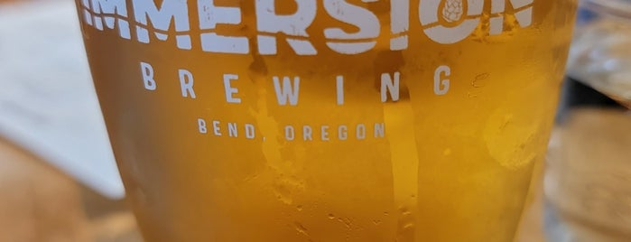Immersion Brewing is one of Bend.