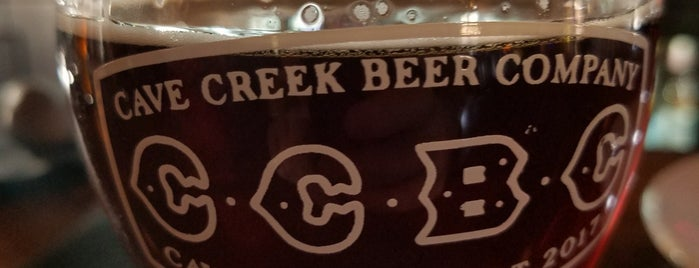 Cave Creek Beer Company is one of Phoenix-area craft breweries.