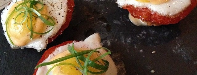 Cata is one of NYC's Best Eggs Benedict Dishes.