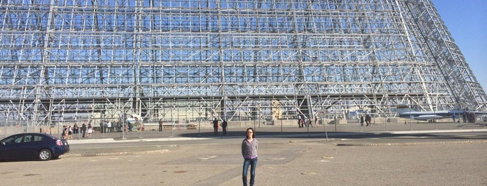 Moffett Field Historical Society Museum is one of SF Bay Area - been there I.