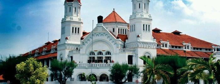 Lawang Sewu is one of Medan-Jekarda-Semarang-Jekarda-Medan.
